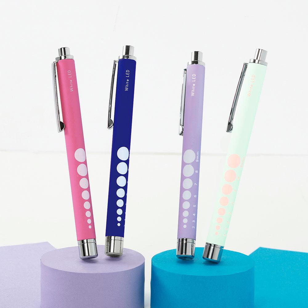 白色LED軽量ラバー調ペンライト